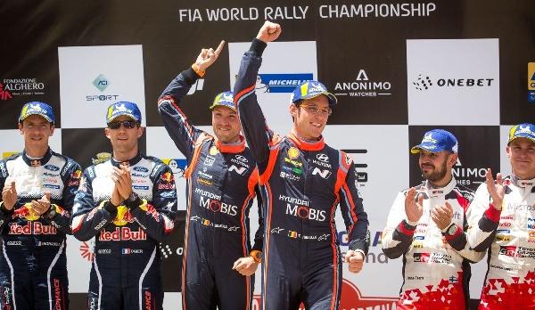 2018年 WRC ラリー・イタリア