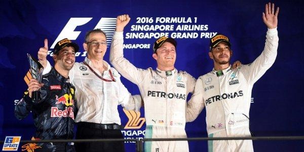 2016年 F1 シンガポールGP決勝