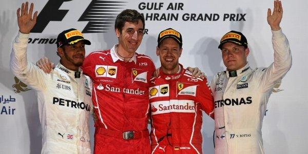 2017年 F1 バーレーンGP決勝