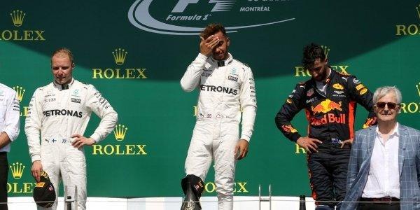 2017年 F1 カナダGP決勝