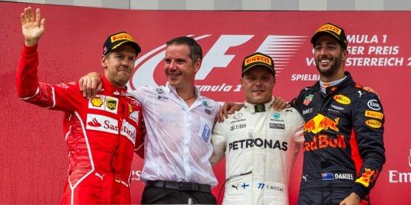 2017年 F1 オーストリアGP決勝