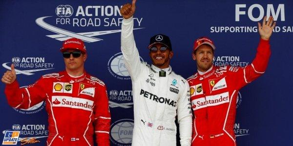 2017年 F1 イギリスGP予選
