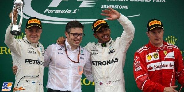 2017年 F1 イギリスGP決勝
