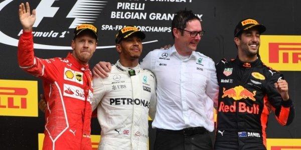 2017年 F1 ベルギーGP決勝