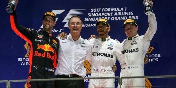 2017年 F1 シンガポールGP決勝