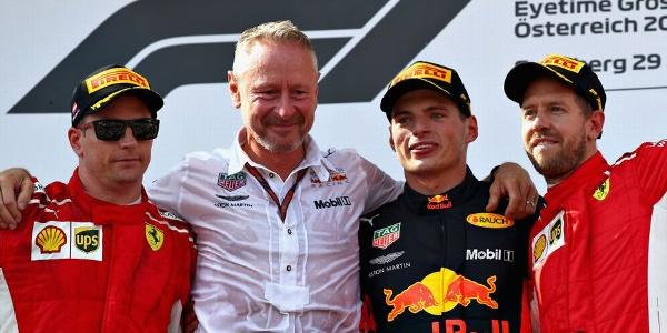 2018年 F1 オーストリアGP決勝