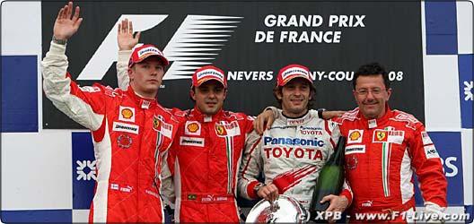 2008年 F1 フランスGP決勝