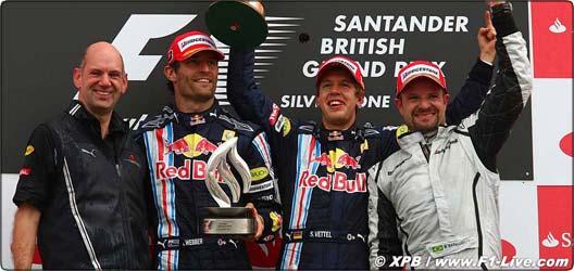 2010年 F1 イギリスGP決勝