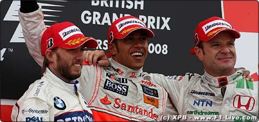 2008年 F1 イギリスGP決勝
